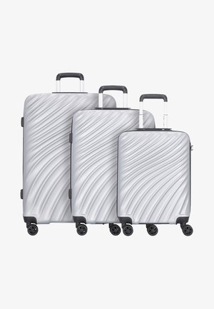 3SET - Set de valises - silver