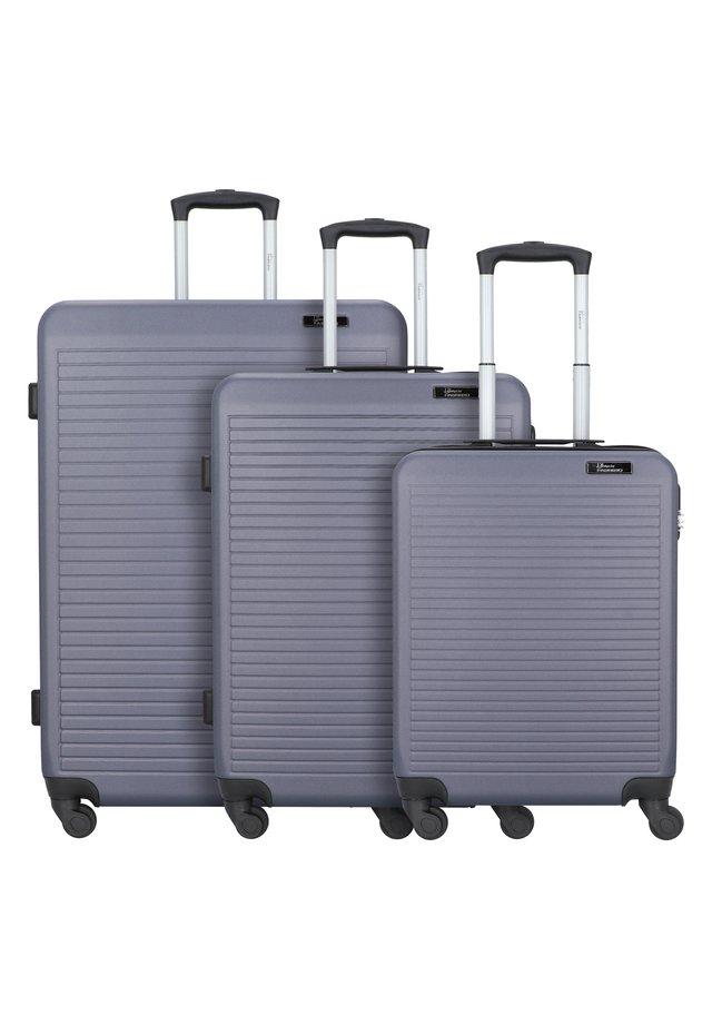 3 PACK - Trolley - dunkelgrau