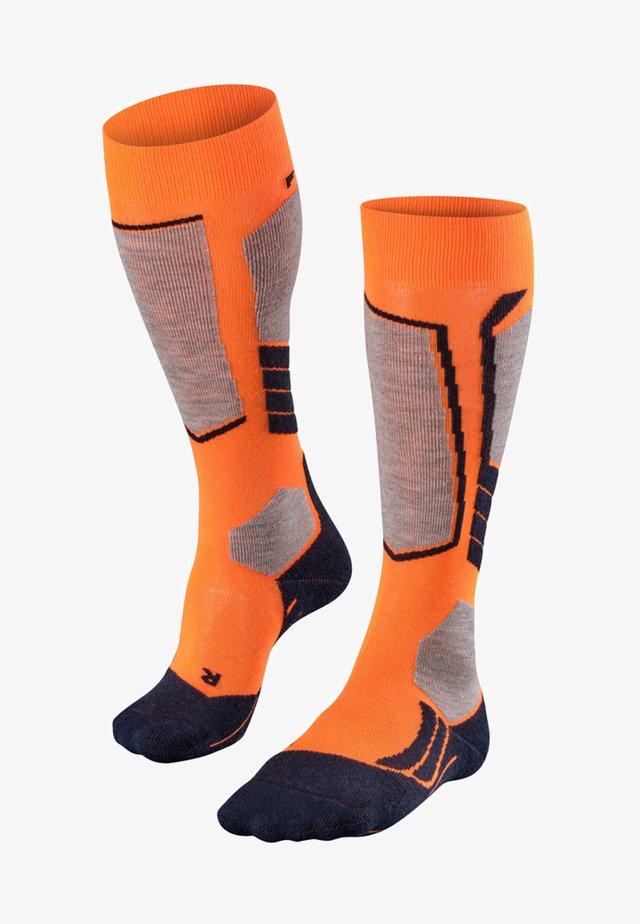 Sports socks - flash orange