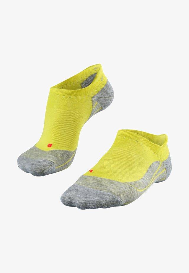 RU4 INVISIBLE - Trainer socks - sulfur