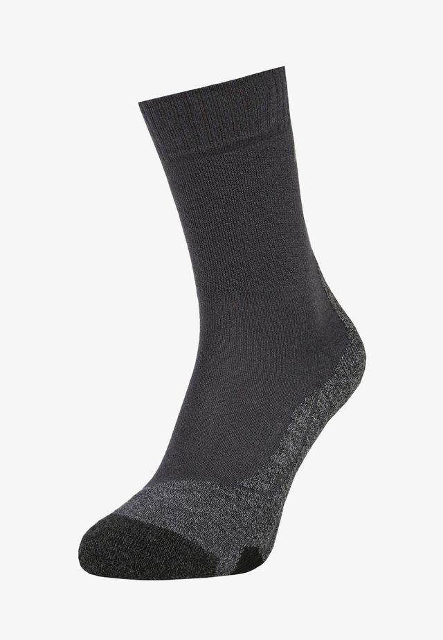 Sports socks - asphalt melange