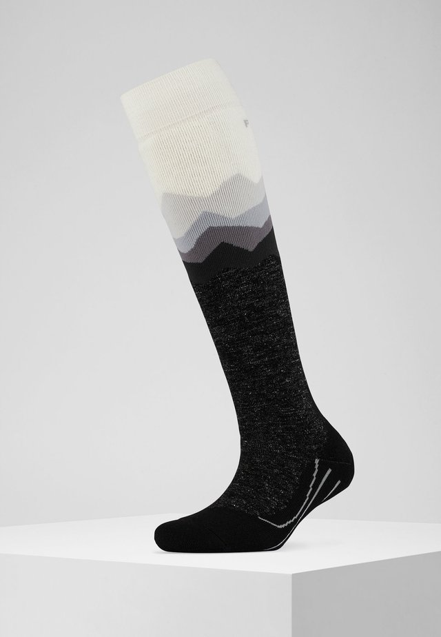 SK2 CREST - Knee high socks - white