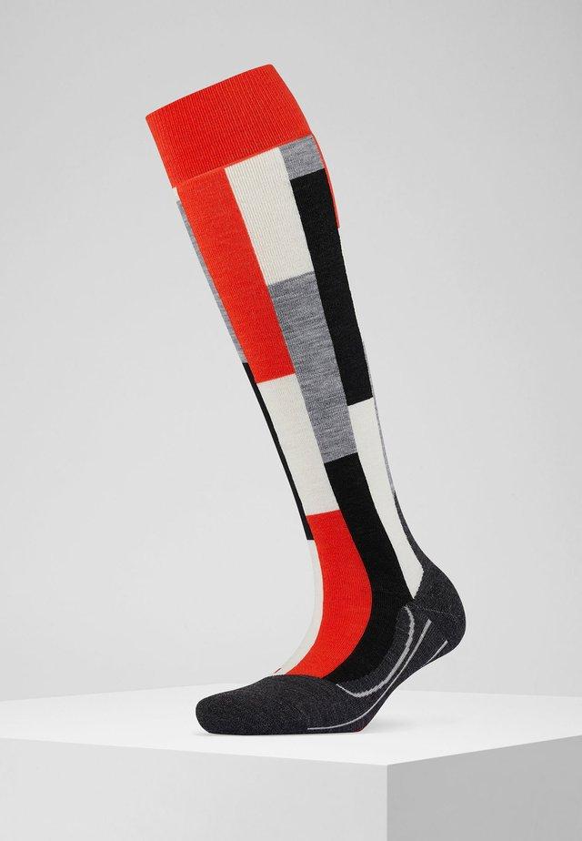 SK4 BRICK - Knee high socks - samba orange
