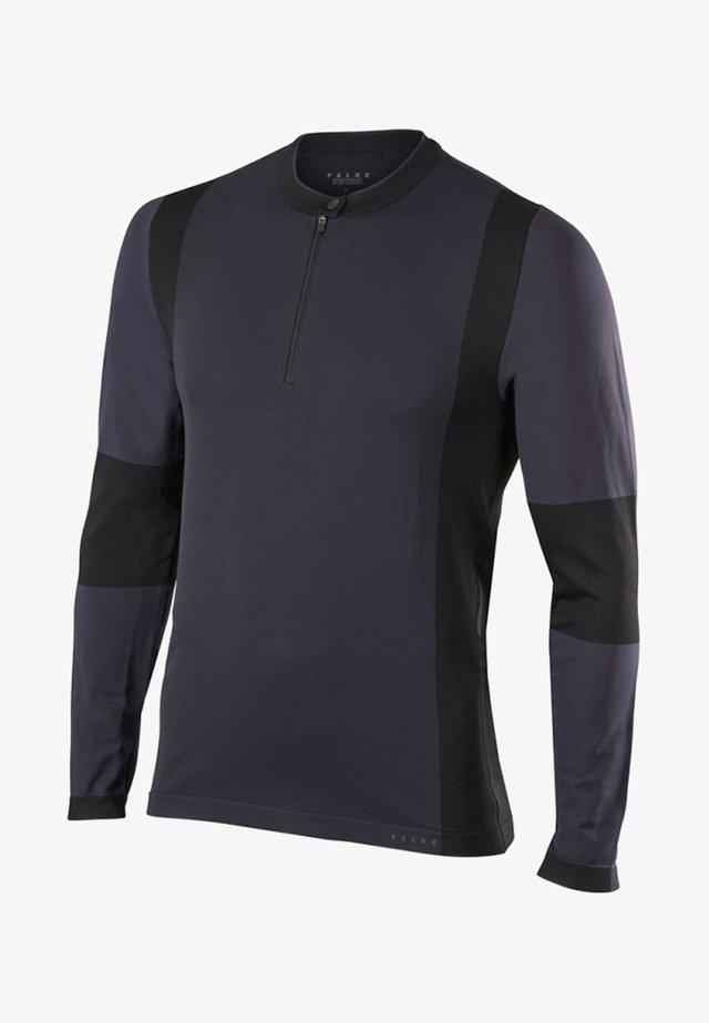 Sports shirt - anthracite/black