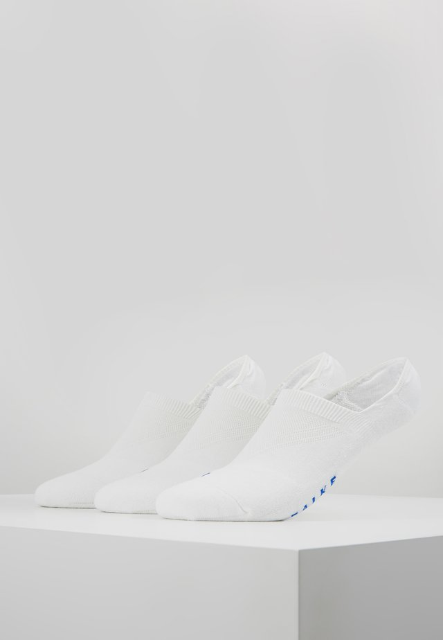 COOL 3 PACK - Trainer socks - white