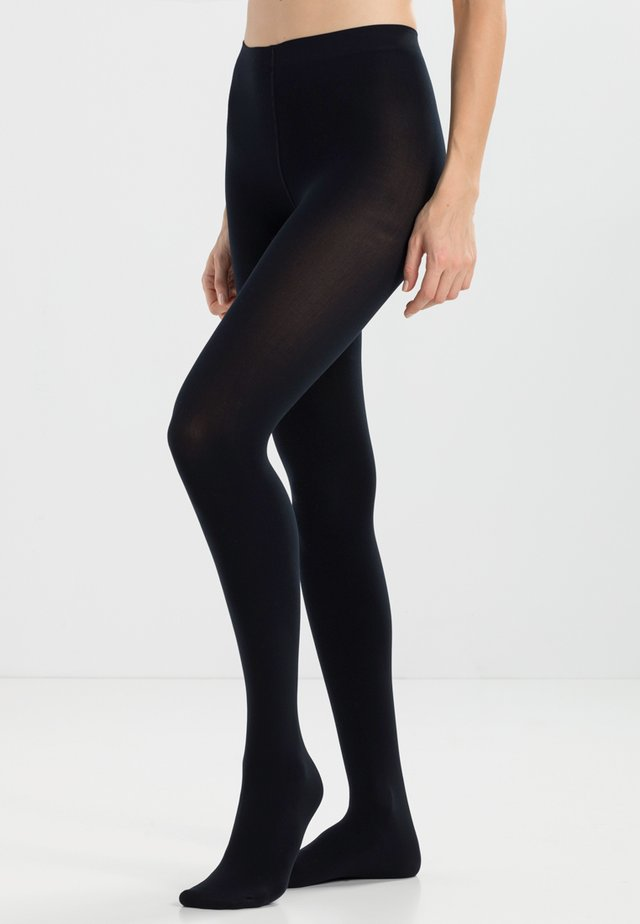 WARM DELUXE 80 DEN - Tights - marine