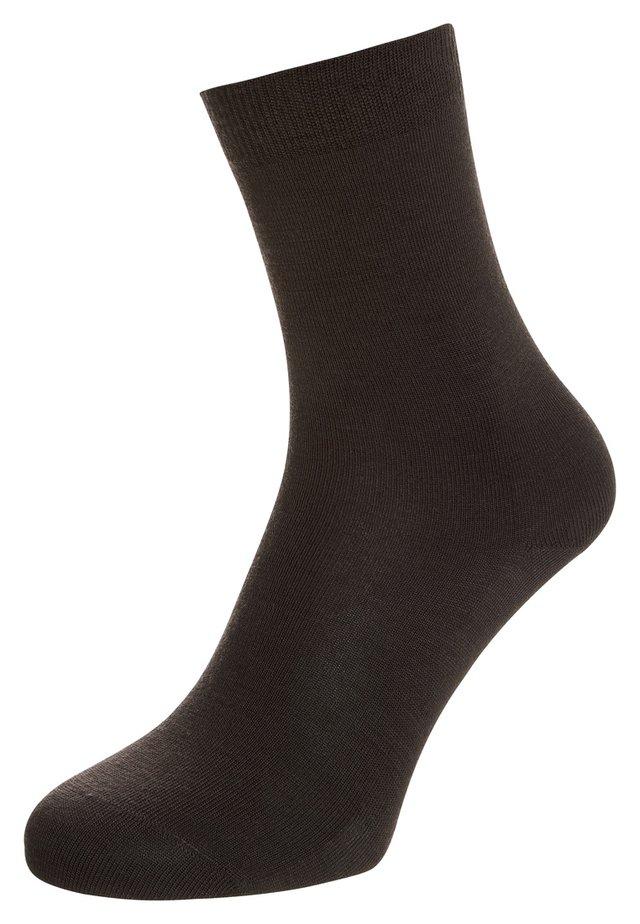 Socks - dark brown