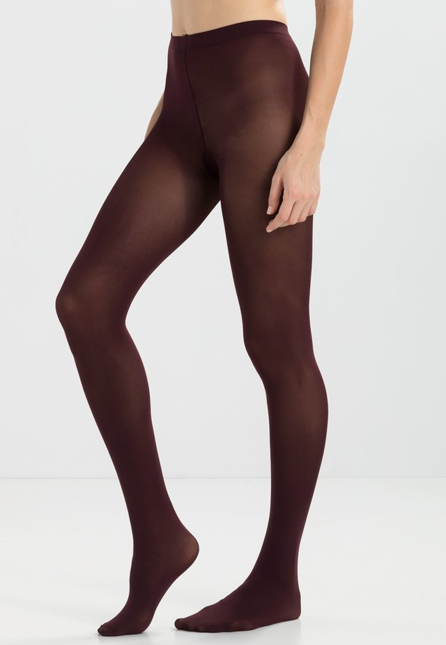 PURE MATT TIGHTS 50 DEN - Tights - dunkelrot