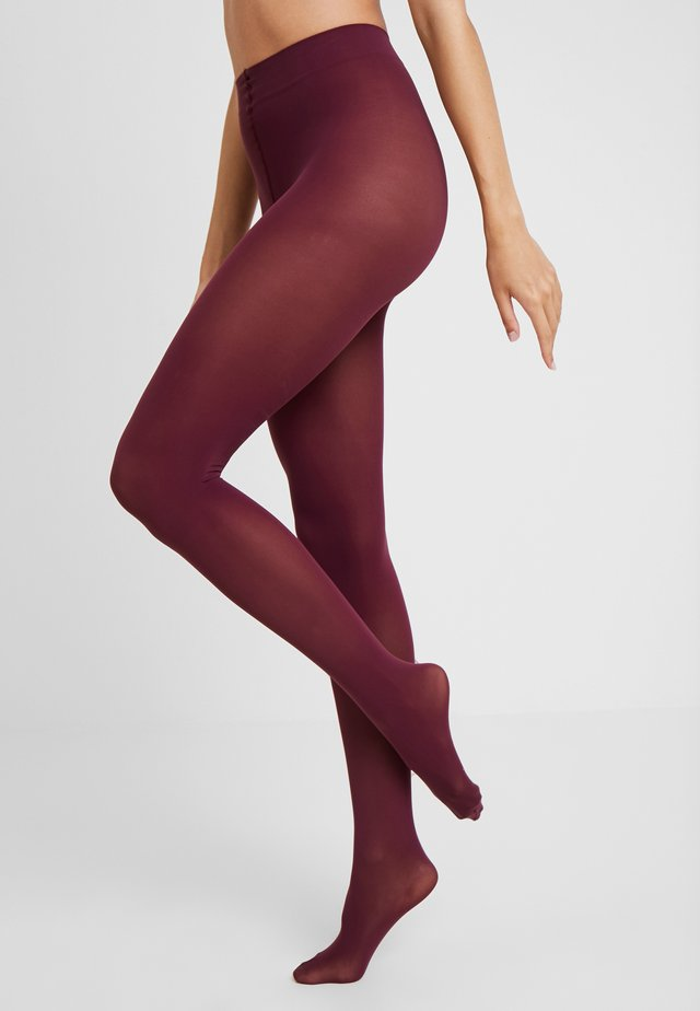 PURE MATT TIGHTS 50 DEN - Sukkahousut - pinot noir