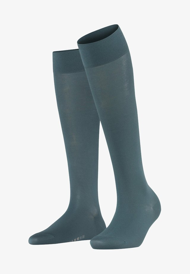 TOUCH  - Knee high socks - steel grey