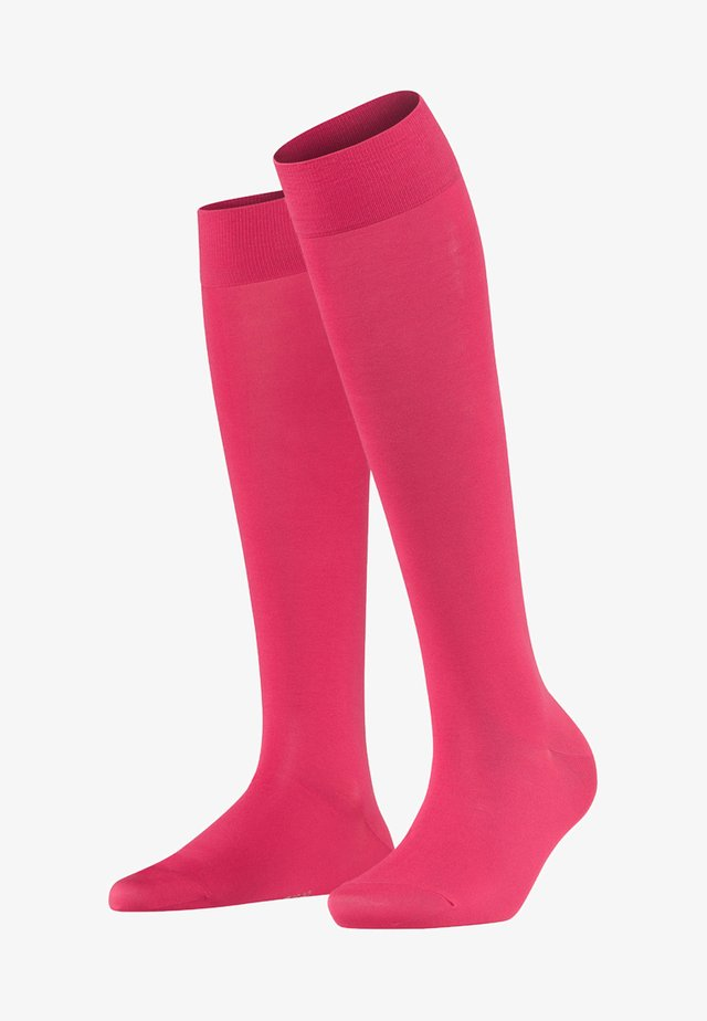TOUCH  - Knee high socks - pink up