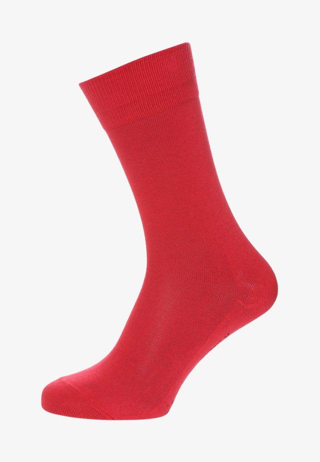 FAMILY - Sokker - scarlet