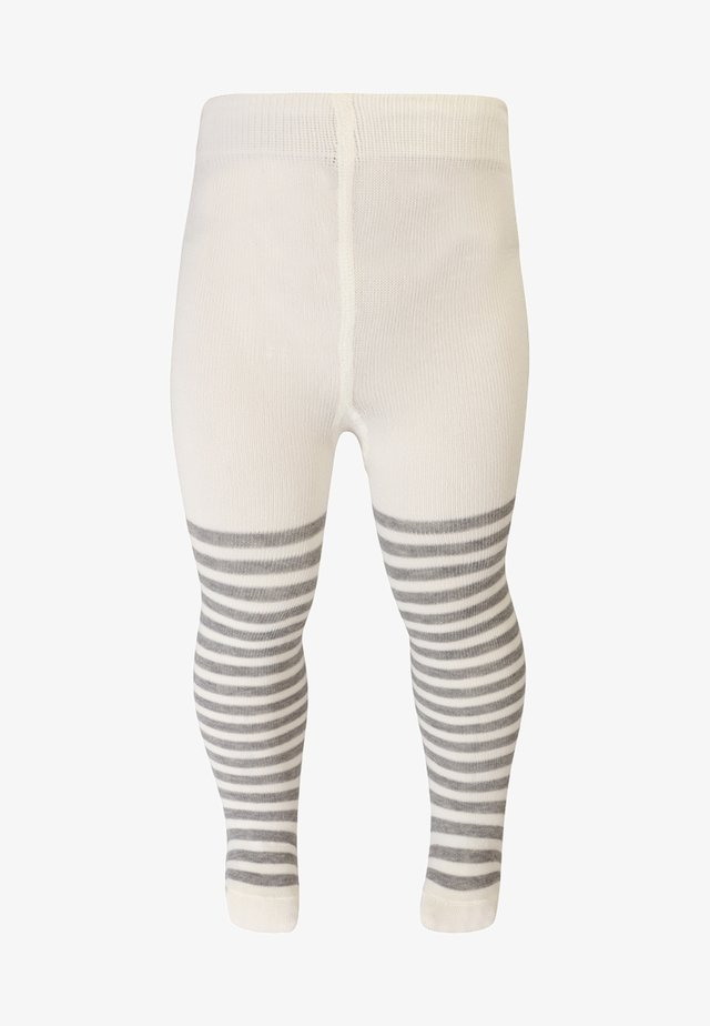 STRIPE TIGHTS - Collants - offwhite