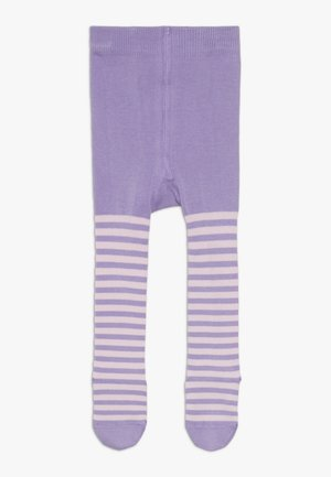 STRIPE TIGHTS - Medias - meteor lilac