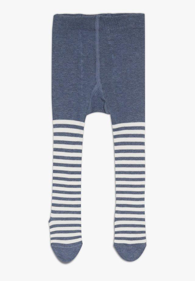 STRIPE TIGHTS - Strømpebukser - light jeans