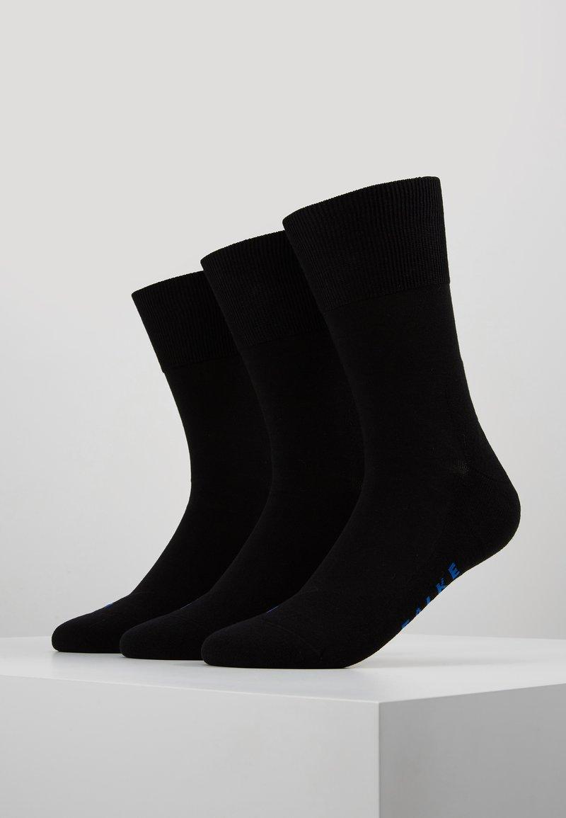 Falke - 3 PACK - Sokken - black