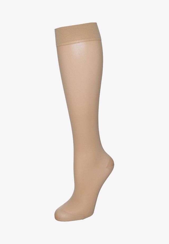 LEG ENERGIZER 30 DEN - Knee high socks - powder