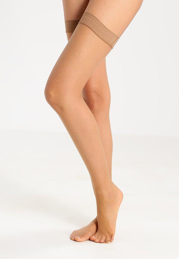 Falke - SHELINA 12 DEN  - Over-the-knee socks - sun