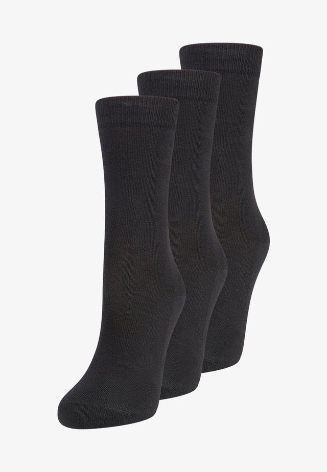 FAMILY 3 PACK - Socks - black