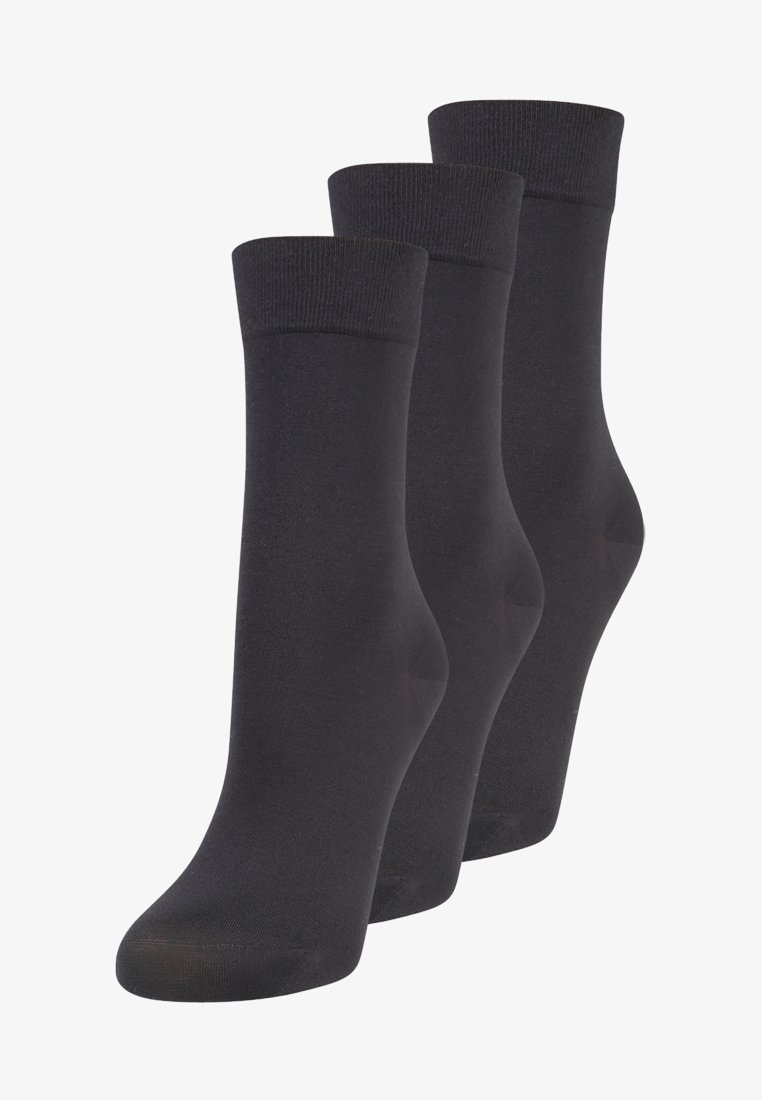 Falke - 3 PACK - Socks - black