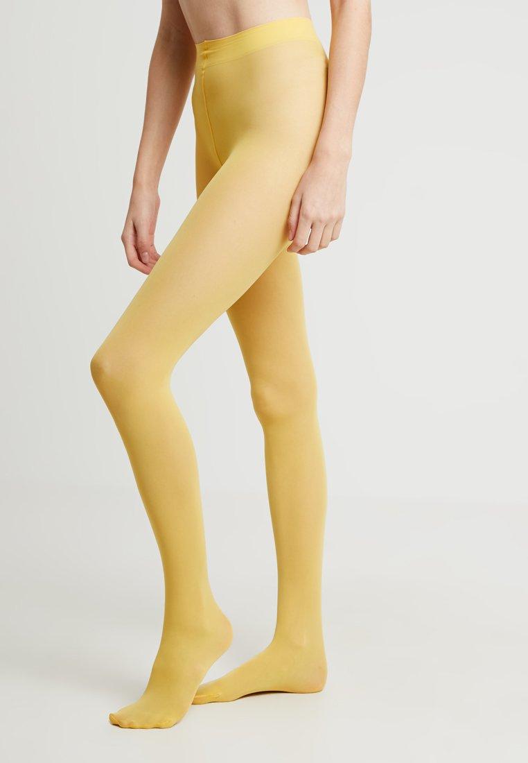 Falke - MATT DELUXE 30 DEN - Tights - mustard