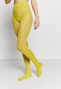 Falke - MATT DELUXE 30 DEN - Panty - deep yellow - 0