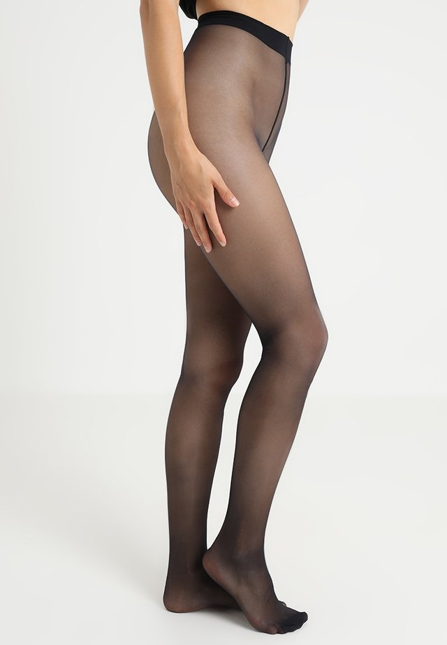 SEIDENGLATT 15 DEN - Tights - marine