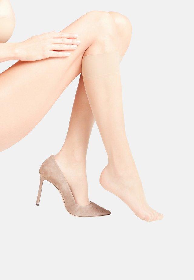 Knee high socks - crystal (4409)