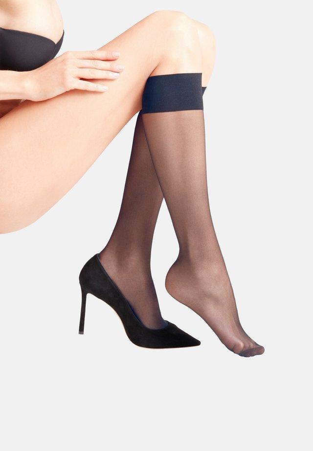 Knee high socks - marine (6179)
