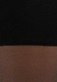 Falke - SEIDENGLATT 15 DEN  - Chaussettes hautes - black - 1