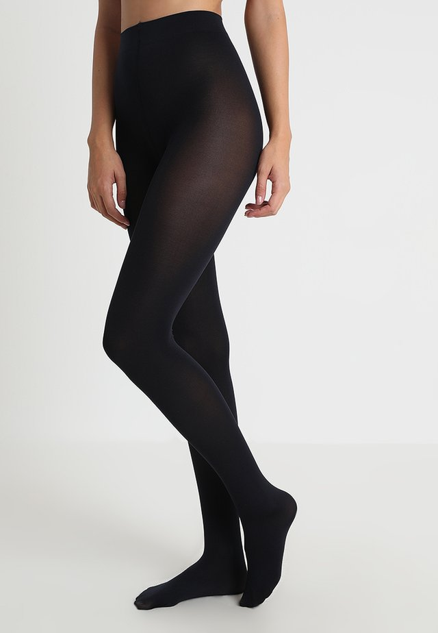 SEIDENGLATT 80 DEN - Tights - marine