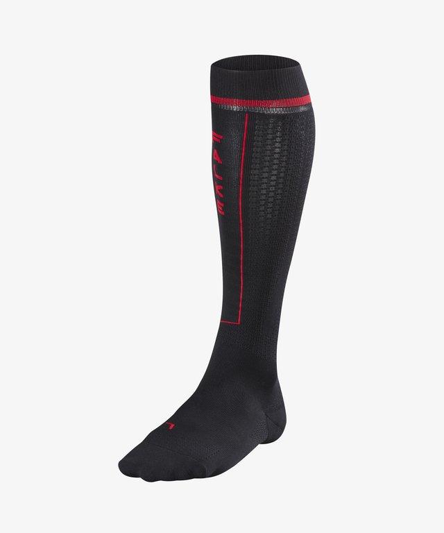 IMPULSE RUNNING - Knee high socks - black