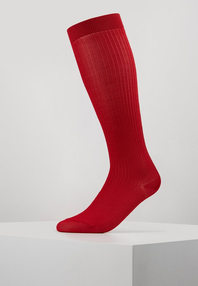WITCHCRAFT 3 PACK - Knee high socks - scarlet