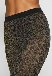 Falke - GOLDEN HOUR - Leggings - black/gold - 2