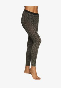 Falke - GOLDEN HOUR - Leggings - black/gold - 1