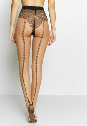 TAPIS SEAM - Collants - powder/black
