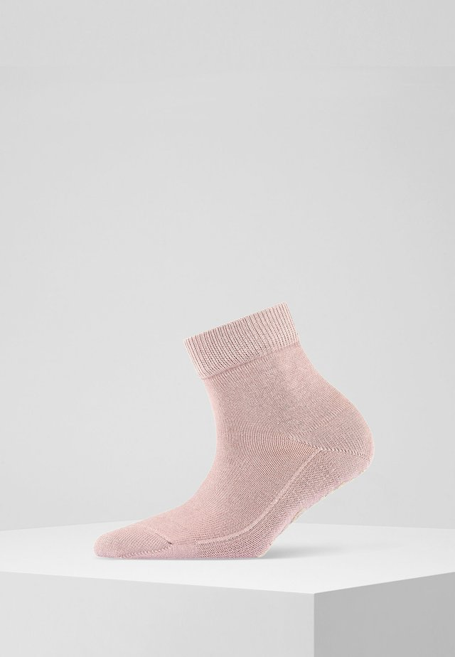 LIGHT CUDDLE PADS  - Socks - rosewood
