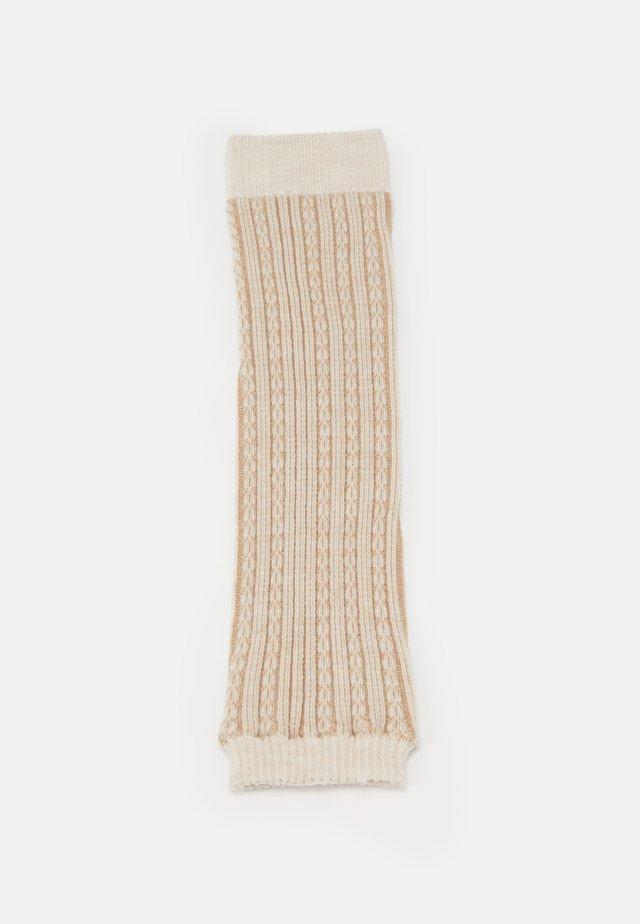 CHAIN STITCH - Leg warmers - beige