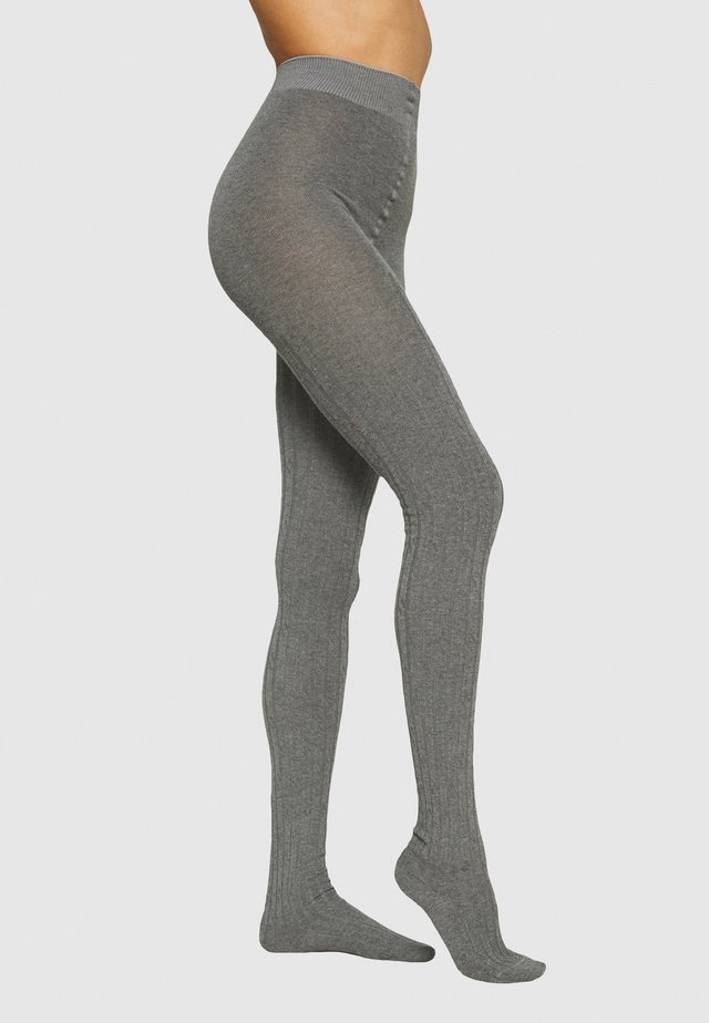 FALKE CLEAN ALLURE STRUMPFHOSE - Collant - light greymelange