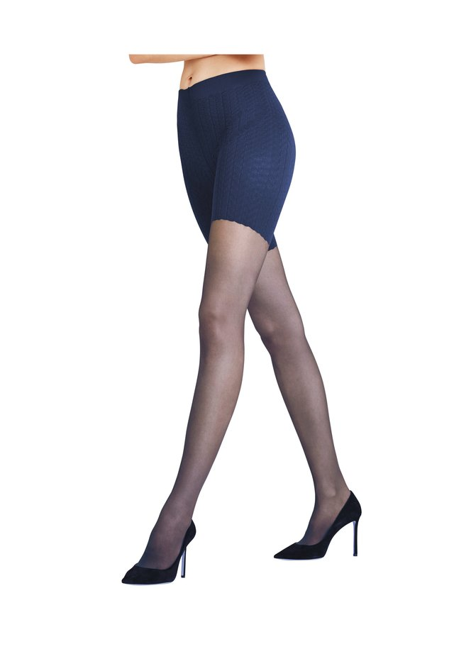 Tights - marine (6179)