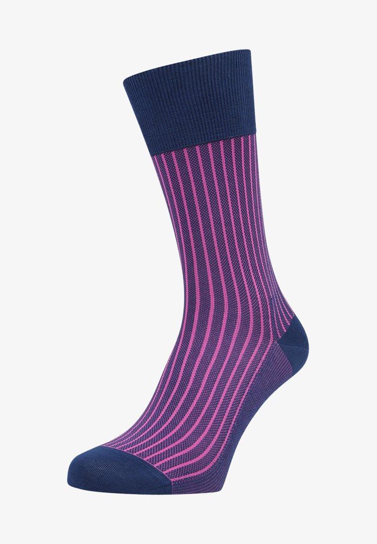 Falke - OXFORD STRIPE - Socks - royal blue