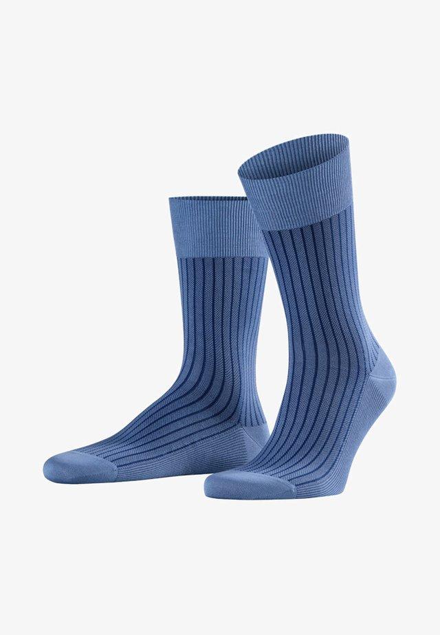 Socks - dusty blue