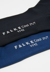 Falke - 2 PACK COOL  - Chaussettes - dark blue/royal blue - 2
