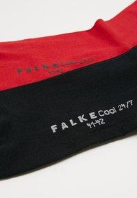Falke - 2 PACK COOL  - Sokken - dark blue/red - 2