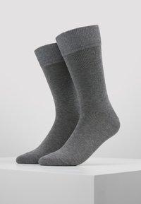 Falke - 2 PACK - Chaussettes - mottled grey - 0