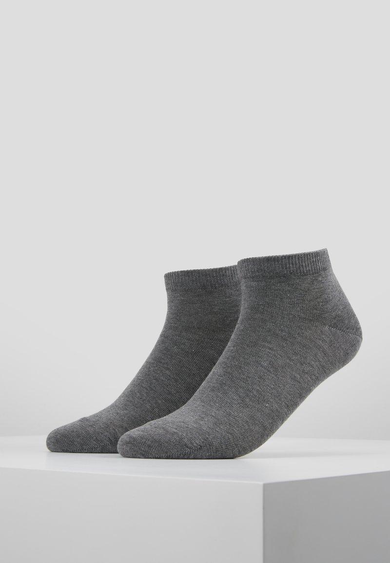 Falke - 2 PACK - Socken - light grey melange