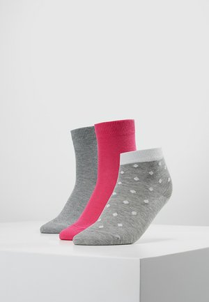 MIXED 3 PACK - Ponožky - pink