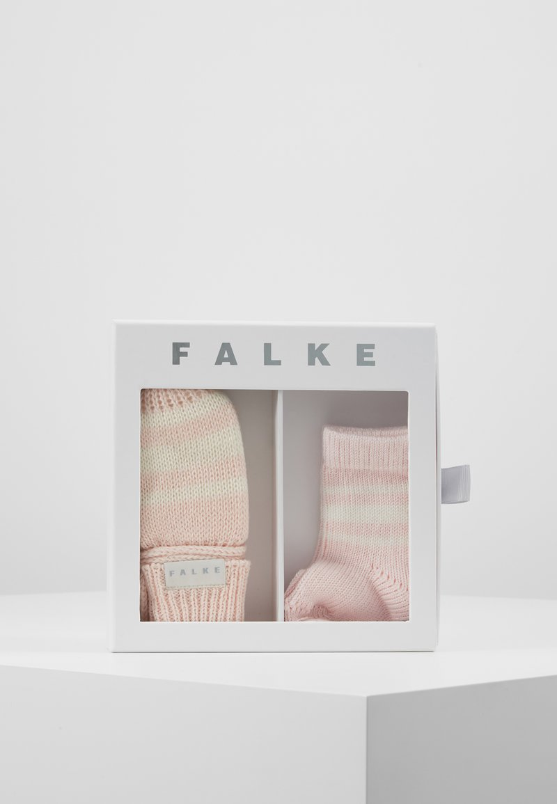 Falke - BABY GIFT SET - Muffole - powder rose