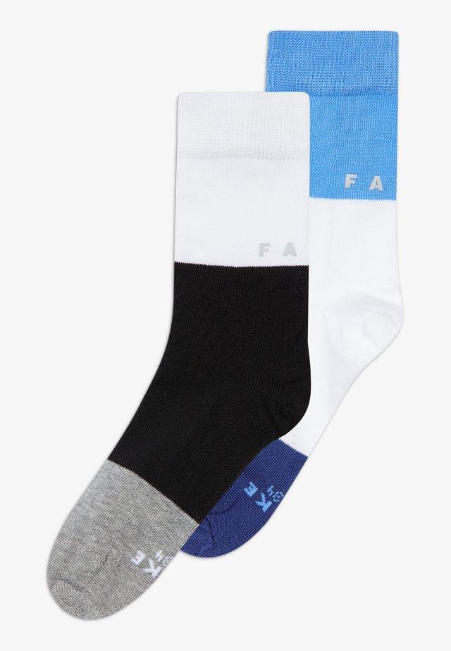 2 PACK - Socks - black/grey