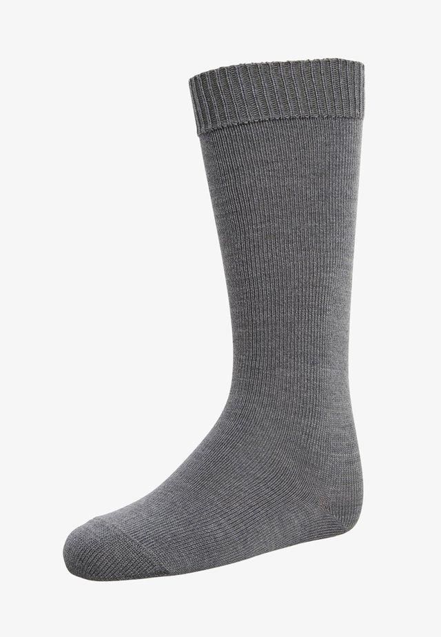 COMFORT - Kniestrümpfe - dark grey melange